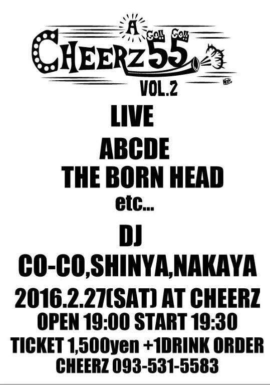 CHEERZ A GO!!GO!! vol.2